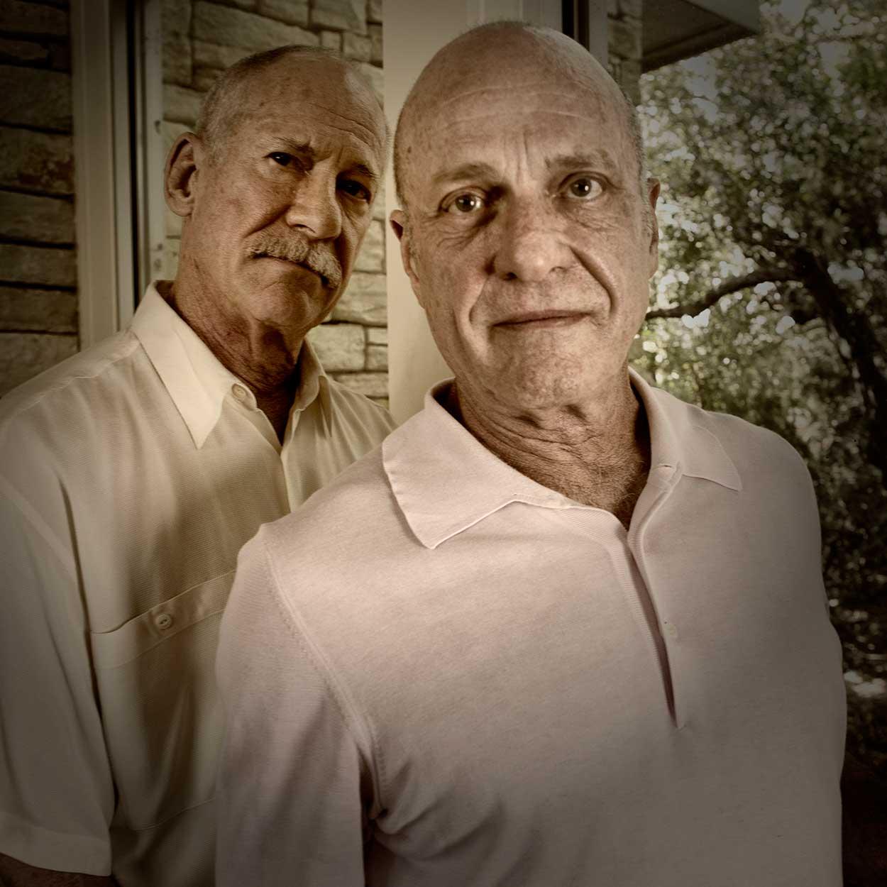 Long Term AIDs Survivor Gary Cooper and His Partner Richard