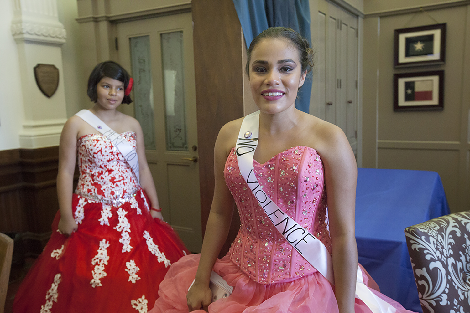 Activists in Ball Gowns